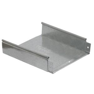 Лоток неперфорированный 100х100х3000 ИЭК толщина металла 0,7мм