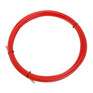 Кабельная протяжка стеклопруток d3,5мм, 20м красная, (мини УЗК в бухте)