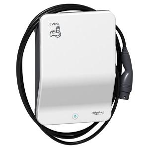 Зарядная станция EVlink Wallbox Plus 22кВт 3 фазы, кабель T2 Schneider Electric