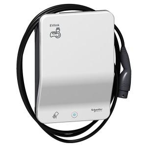 Зарядная станция EVlink Smart WB 22кВт кабель T2+карта RFID Schneider Electric