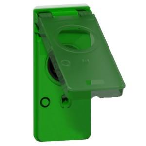 Блок разъема T2S зеленый Schneider Electric