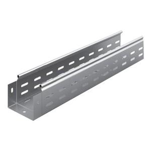Металлический лоток перфорированный 100х80х3000 (0,8мм) OSTEC