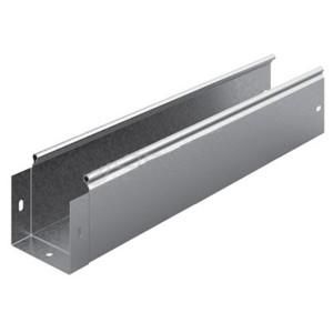 Металлический лоток неперфорированный 100х100х3000 (0,8мм) OSTEC