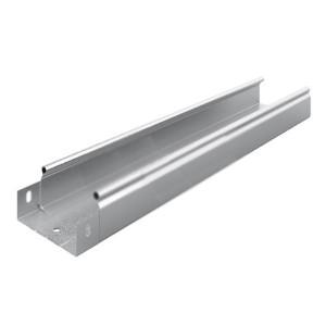 Металлический лоток неперфорированный 100х50х3000 (0,55мм) OSTEC