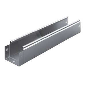Металлический лоток неперфорированный 100х80х3000 (0,8мм) OSTEC