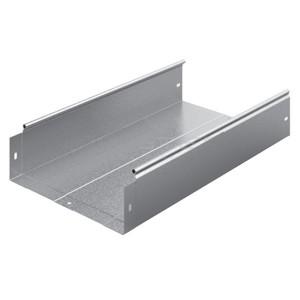 Металлический лоток неперфорированный 300х100х3000 (0,8мм) OSTEC