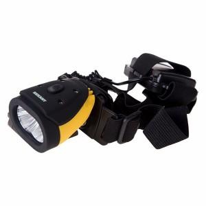 Налобный фонарь Rexant rx-02 2LED 1W батареи типа 3xAAA (в комплект не входят) 50x42x58mm