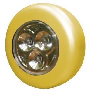 Светильник круглый светодиодный Foton HT-8014 3LED 0.23W 10Lm d67x22mm желтый (Аналог OSRAM DOT IT)
