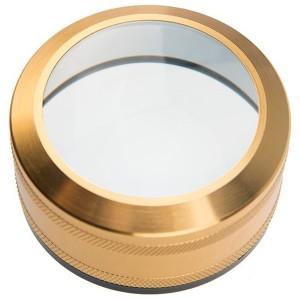 Линза лупа круглая с кратностью увеличения 4x, диаметр 50 мм