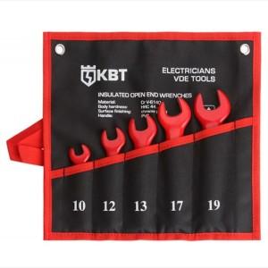 Набор диэлектрических однорожковых ключей до 1000В 5 предметов НИИ-20 КВТ