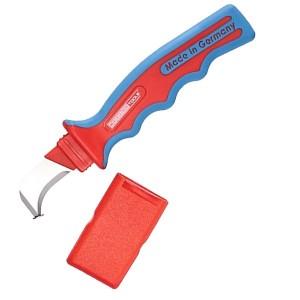 Кабельный нож плужковый с пяткой WEICON №1000 диэлектрический VDE 1000V