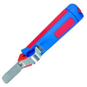 50054428  WEICON 4-28G  Кабельный нож с прямым лезвием (упаковка-блистер)