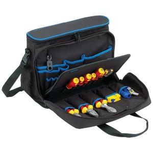 KL905B15 Проф. сумка для хранения и переноски ноутбука и инстр-в, наполнение: 11 инструментов VDE до