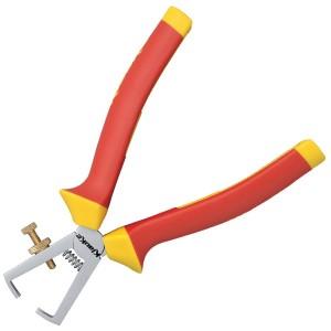 KL060160IS  Инструмент для зачистки проводов L160 мм с изол. рукоятками (VDE до 1000В)