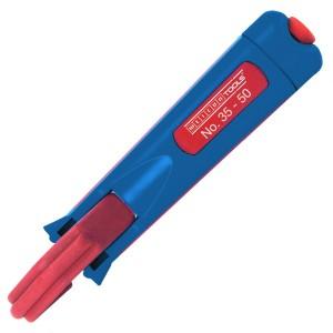 50050450  WEICON № 35-50  Кабельный нож (упаковка-блистер)