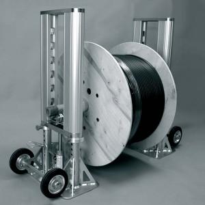 Uniroller-1000 Устр-во гидравл. для размотки барабанов с кабелем ( до 4 т ) с доп. фиксаторами