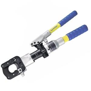 K-HS45A Ручной гидравл. кабелерез К-серии KLAUKE, 60 кН, усиленная голова закр. типа,  для резки Cu-