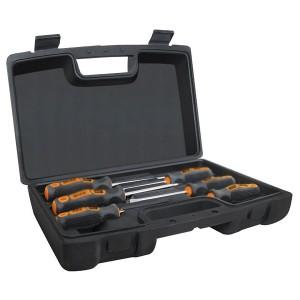 Набор из 6-ти отверток в пластиковом чемоданчике сталь CR-V Алмаз TDM