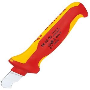 Нож для удаления оболочки круглого кабеля 170мм VDE 1000V