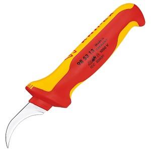 Нож для удаления оболочки кабеля с секторными жилами 190мм VDE 1000V