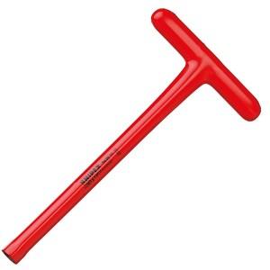 Торцовый ключ 17мм Knipex с Т-образной ручкой 300мм диэлектрический VDE 1000V
