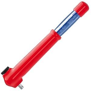 Ключ динамометрический диэлектрический 385мм Knipex с квадратом 3/8 дюйма VDE 1000V