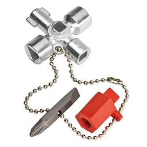 Ключ для электрошкафов 44 мм