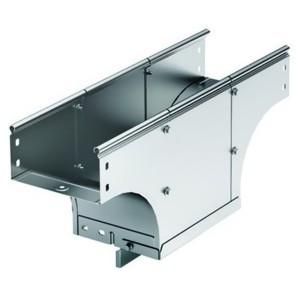 Ответвитель TDS Т-образный вертикальный основание 400 H80 в комплекте с крепежными элементами
