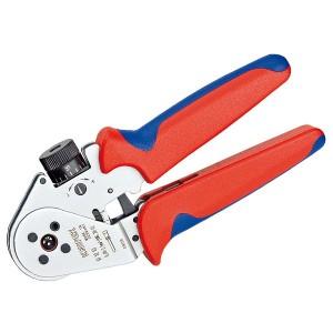 Инструмент для тетрагональной опрессовки точеных контактов хромированные 180 мм