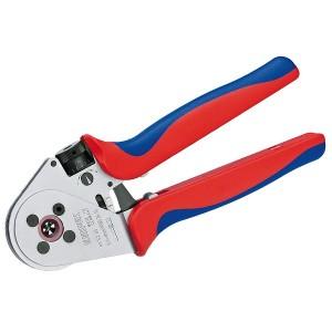 Инструмент для тетрагональной опрессовки точеных контактов хромированные 230 мм