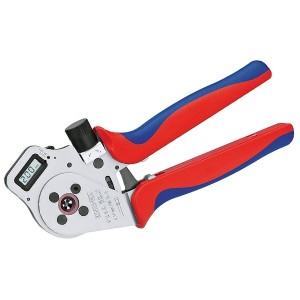 Инструмент для тетрагональной опрессовки точеных контактов хромированные 250 мм