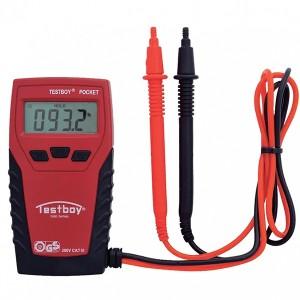 Карманный цифровой мультиметр Testboy Pocket (до 300В)