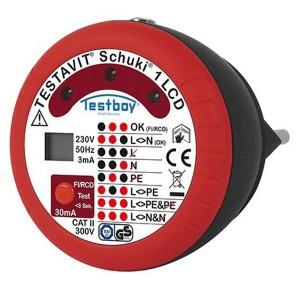 Розеточный индикатор Testavit Schuki 1 LCD