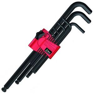 950 PKL/9 BM N Набор Г-образных ключей, метрических, BlackLaser, 9 деталь
