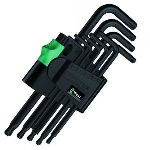 967 PKL/9 TORX® Набор Г-образных ключей, BlackLaser, 9 деталь