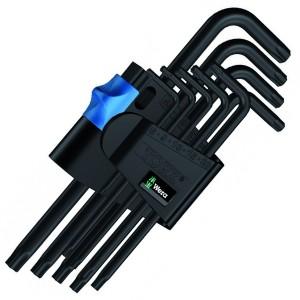 967 L/9 TORX® HF Набор Г-образных ключей с фиксирующей функцией, BlackLaser, 9 деталь