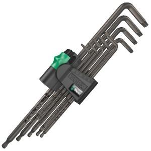 967/9 TX XL 1 TORX® Набор Г-образных ключей, цинковое фосфатирование, удлиненный, 9 деталь