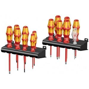 Набор диэлектрических отверток 14 штук Wera Kraftform Big Pack 100 VDE 1000V