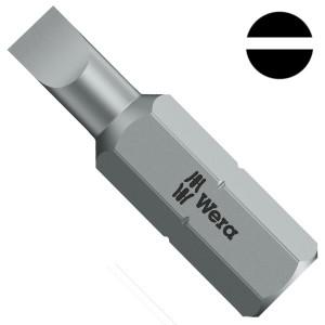 Бита шлицевая 0.6 x 4.5 x 25mm Wera 800/1 Z