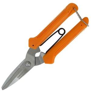 Ножницы для резки пластика, нерж.сталь, 200 мм, серия Алмаз TDM