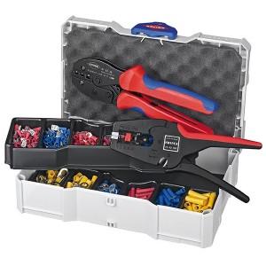 Набор Knipex пресс-клещи 975304, стрипер 1240200, кабельные наконечники в кейсе TANOS MINI-systainer