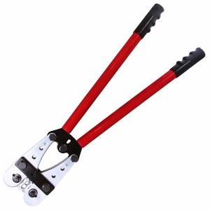 Кримпер для обжима силовых наконечников и гильз  16, 25, 35, 50, 70, 95, 120мм2 (ht-2517) REXANT