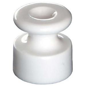 Изолятор Bironi керамика белый (50 штук в упаковке)
