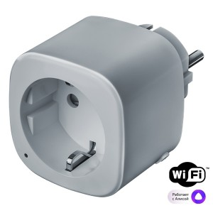 Умная розетка Navigator 14555 NSH-ST-01-WiFi 3680Вт 16А 100-240В 50/60Гц