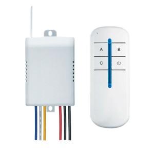 Дистанционный выключатель Navigator 61759 NRC-SW01-1V1-3 с радиопультом на 3 канала 3х1000 Вт