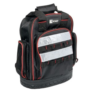 Рюкзак монтажника универсальный с резиновым дном  С-07 280х300х135мм ПВХ EKF Master
