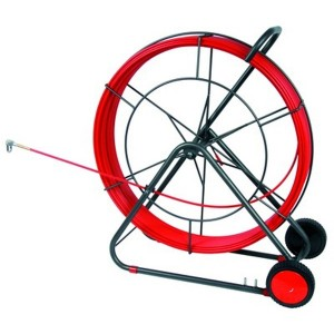 Устройство закладки кабеля на вращающемся барабане DKC стеклопруток диаметр 11мм, длина 150 м