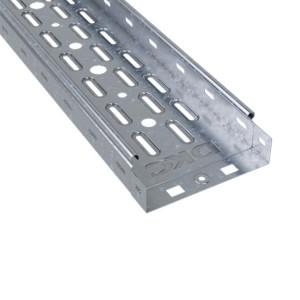 Лоток перфорированный DKC S5  100х80 L3000 оцинкованный