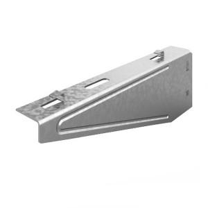 Кронштейн настенный для проволочного лотка безвинтовой 100мм OSTEC