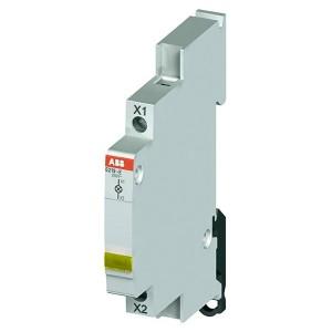 Лампа индикации ABB E219-E желтая 115-250В AC переменного тока 0,5 модуля